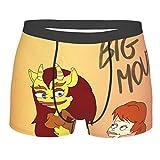 Anime Big Mouth Comic - Calzoncillos deportivos para hombre