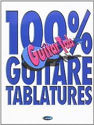 100% Guitare Tablatures Guitar Tab Book-