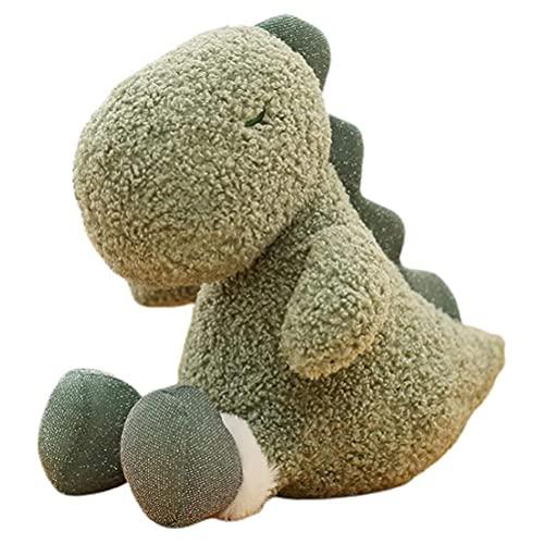 Lubudup Peluche de dinosaurio de peluche, juguete de peluche, regalo de Navidad, Kawaii, decoración del hogar, 9IN