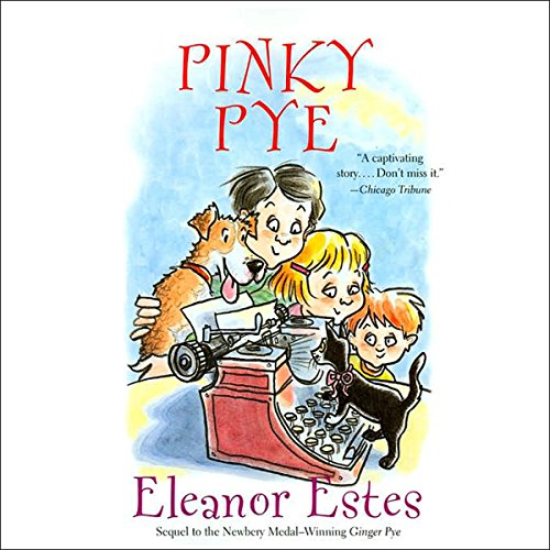 Pinky Pye  audiobook cover art