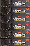 6 Natureplex Athlete's Foot Antifungal Cream Clotrimazole 1% Jock Itch, 1.25oz