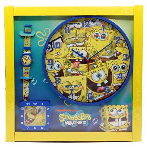 Bob esponja set relojes