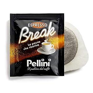 Pellini Caffè Espresso Break Cremoso, Cialde Compatibili E.S.E., 150 Capsule