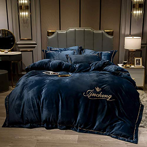 Bed Accessories for Bedroom Bedding Sets Double Size Bedding Sets King Size Purple Double Duvet Covers Set with Fitted Sheet Duvet Cover Set Bedding Set Winter Double Quilt Cover Sets Flat Sheet So