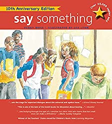 say something book peggy moss