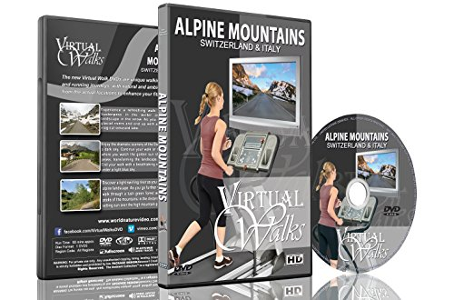 Virtual Walks - Alpine Mountains of Switzerland & Italy for