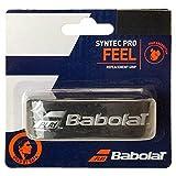 Babolat Syntec Pro Grip de rechange pour raquettes de tennis, Mixte, noir/argent, 1-Grip