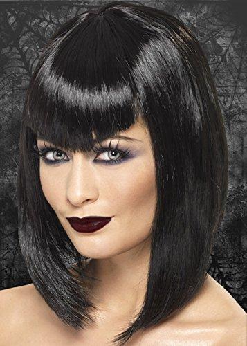 Femmes Noir Gothique Vampire Perruque