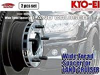 [KYO-EI_Kics]200系 ランドクルーザー200(ランクル200) 専用ワイドトレッドスペーサーM14×P1.5_5穴_P.C.D.150(25mm)【5525W1】