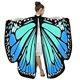 Battnot Schmetterling Kostüm Kinder Jungen Mädchen Choker Schmetterlingsflügel 108x136CM...