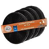 DREHFLEX - 2 x 2 Kohlefilter - kompatibel für Dunstabzugshauben von AEG-Electrolux Faber Ikea Smeg für Teile-Nr. 4055093712 112.0067.944 112.0254.245 EFF75 …