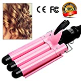 3 Barrel Curling Iron Hot Tools Curling Iron Fast Heating Ceramic Hair Waver Curler 25mm Hair Curling Wand (style2)
