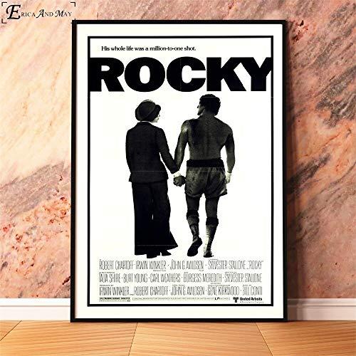 Puzzle 1000 Piezas Rocky Balboa 1976 película clásica en Juguetes y Juegos Educativo Divertido Juego Familiar para niños adultos50x75cm(20x30inch)