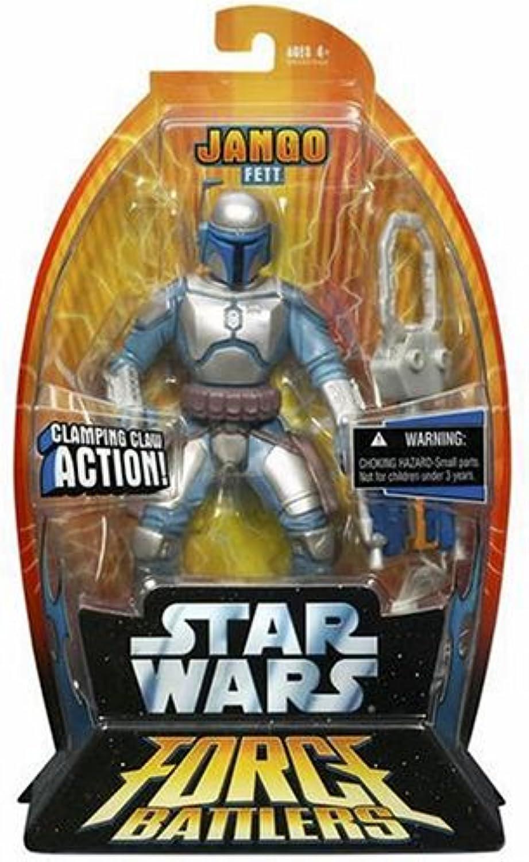 Star Wars FORCE BATTLERS JANGO