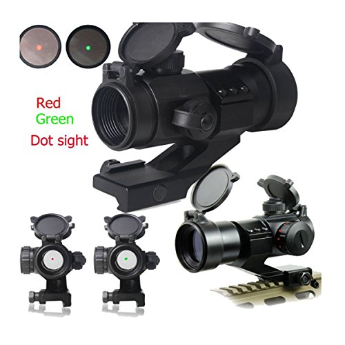 IRON JIA'S Tactique 4 MOA Red Green Dot Laser Airsoft Illuminated M3 Lunettes de visée Reflex Dot Sight Stinger PEPR 20mm Chasse