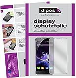 dipos I 2X Schutzfolie klar kompatibel mit Blackview P2 Folie Bildschirmschutzfolie