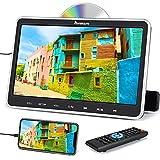 NAVISKAUTO 10,1' DVD Portátil Coche, con Soporte de Reposacabezas, Soporta HDMI/USB/SD/ MP4/ MKV/AVI, Diseño de Unidad Óptica de Succión Superior