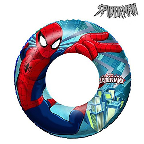 Eurowebb Bouée Gonflable Spiderman en Vinyle résistant - Mer et Piscine