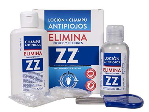 Zz Loción Antipiojos Y Champú, Tamaño Único, Pack de 1