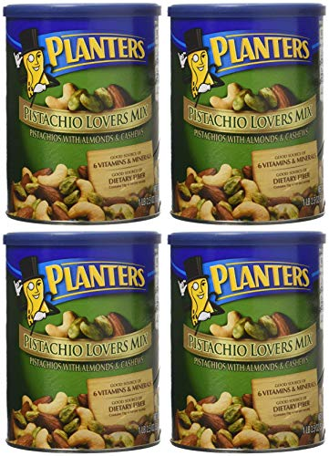 XQN Pistachio Lovers Mix, Salted 4 - Pack (18.5 Ounce)