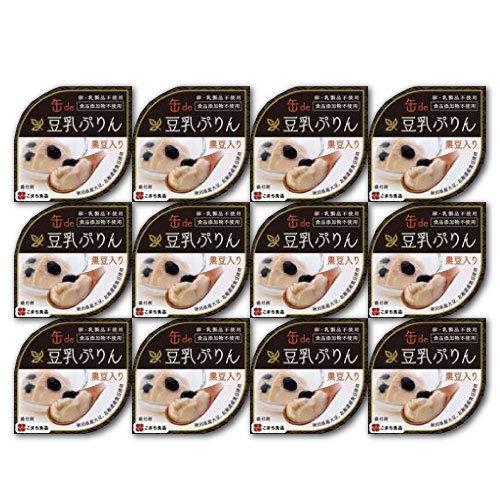 豆乳ぷりん 12缶セット (90g×12個)