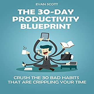 The 30-Day Productivity Blueprint audiobook cover art