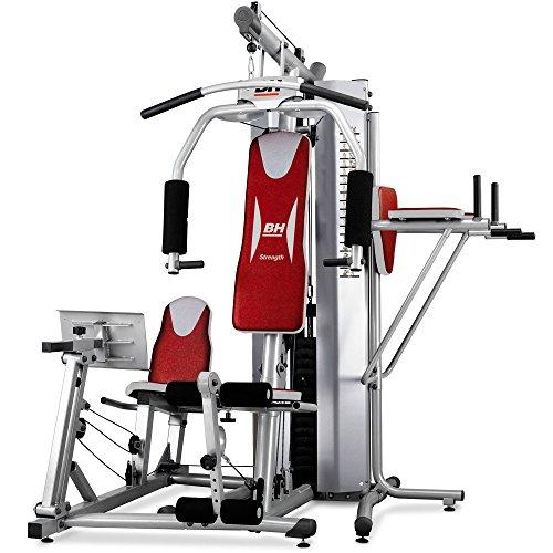 BH Fitness Global Gym Plus – Máquina de fitness, Multiestación, tensión máxima 100 kg ⭐