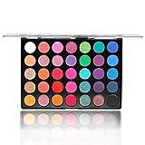 35 Color Studio Palette per ombretti Palette per trucco, Tonalità di colore perfettamente combinabili, Opaco, Trame luminose e scintillanti, Per occhi seducenti (35E)