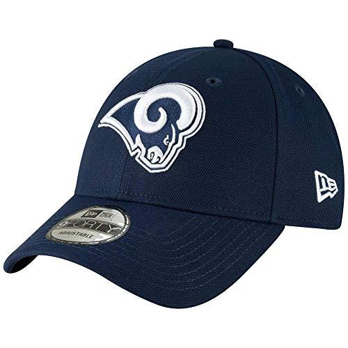New Era Herren 9Forty Los Angeles Rams The League Kappe, Blau/Weiß, verstellbar