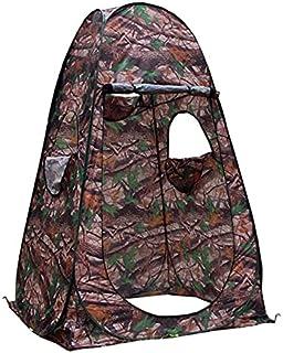 Kamouflage 120 x 120 x 190 cm bärbart duschtält/dreesing/toaletttält/fotografering popup-tält enkelt gömma med 3 fönster