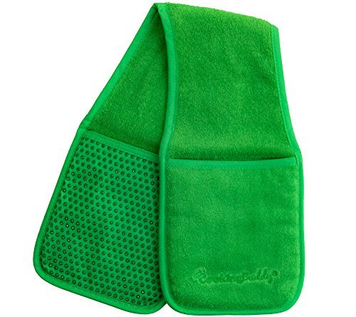 Campanelli's Cooking Buddy Pot Holder - Professional Grade All-In-One Non-Slip Silicone Potholder, Hand Towel, Lid Grip, and Trivet - Heat Resistant up to 500ºF - As Seen On QVC (Forest Green)