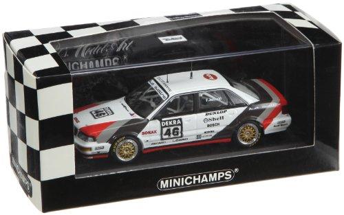 Minichamps 400901046–Audi V8Quattro, Squadra SMS Motor Sport, Scala: 1: 43
