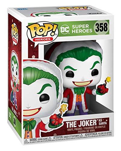 Horror-Shop Funko Pop Heroes DC Holiday The Joker As Santa