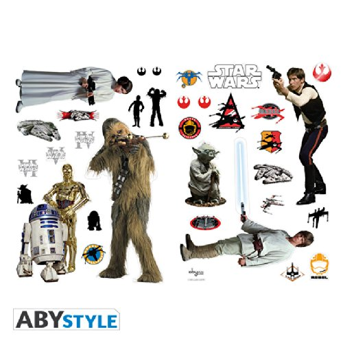 ABYstyle - STAR WARS - Stickers - 100x70cm - Rebels