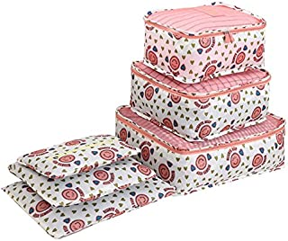 6pcs/set Travel Organizer Storage Bags Portable Luggage Organizer Clothes Tidy Pouch Suitcase Packing Laundry Bag Storage ...