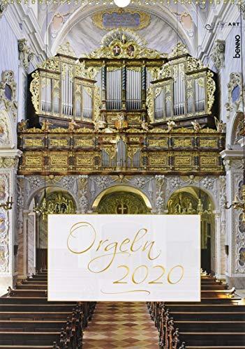 Orgeln 2020: Kalender ohne CD