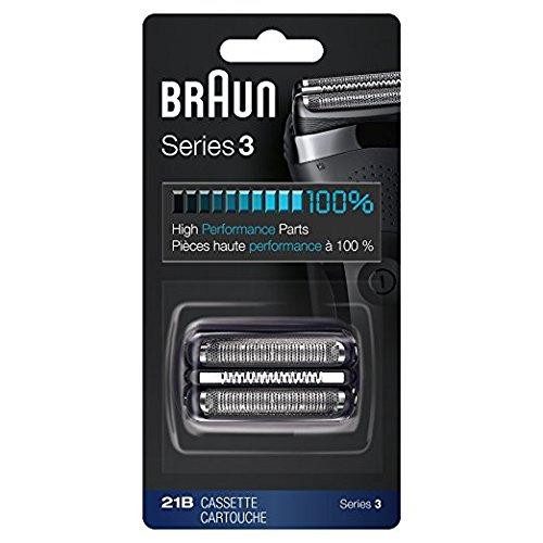 Price comparison product image Braun Series 3 Shaver Cassette Black 21B