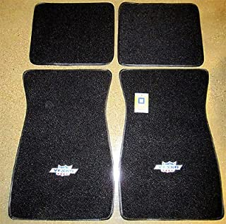The Parts Place Yenko Embroidered Carpeted Floor Mat Set