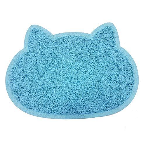 Tapis de litière en PVC respectueux de l'environnement en forme de patte de chat et chiot