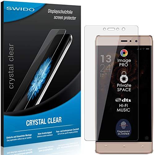 SWIDO Bildschirmschutz für Allview X3 Soul Style [4 Stück] Kristall-Klar, Hoher Festigkeitgrad, Schutz vor Öl, Staub & Kratzer/Folie, Schutzfolie, Bildschirmschutzfolie, Panzerglas Folie