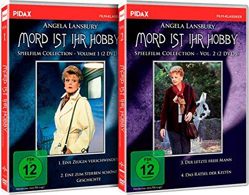 Mord ist ihr Hobby - Gesamtedition / Vier spannende Spielfilme mit Angela Lansbury in ihrer Paraderolle auf 4 DVDs (Pidax Serien-Klassiker)
