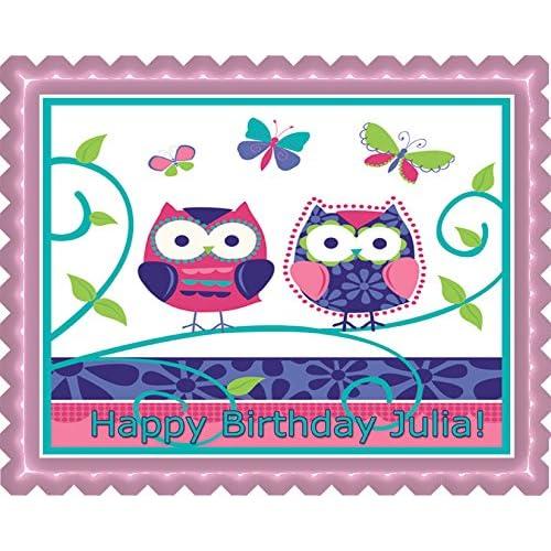Owl Cake Topper: Amazon.com