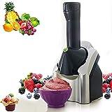 AMZBEST Eismaschine, Tragbare Softeismaschine Für Kinder, BPA Free Fruit Softeismaschine, Make...