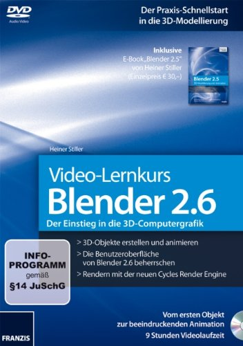 Blender 2.6 Video Lernkurs [import allemand]