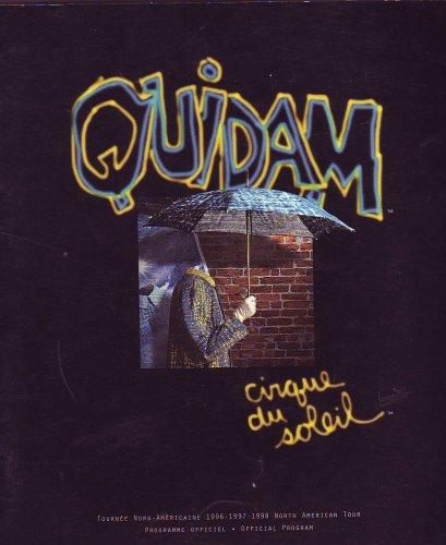 """Quidam"""" Cirque du Soleil (North American Tour Official Program, 1996 - 1997 - 1998)"""