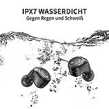 AIKELA Wieless Earbuds Headphones Bluetooth Earphones… (black1)