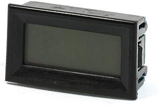 X-DREE DC 0-20V Measuring Range Digital Display Voltmeter Panel Black (65d9e0ca-a222-11e9-8d7c-4cedfbbbda4e)