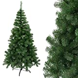 Arcoiris Arbre de Noël artificiel extra rembourré sapin artificiel support métallique 90 – 240 cm (180 cm, arbre vert)