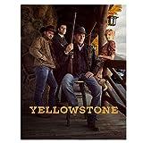 KONGQTE Yellowstone Staffel 2 TV-Show Poster Leinwanddruck