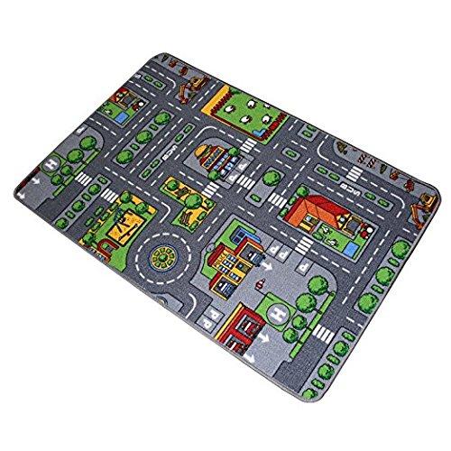 Meubinex 52028102 Spielteppich, City, 80 cm x 120 cm